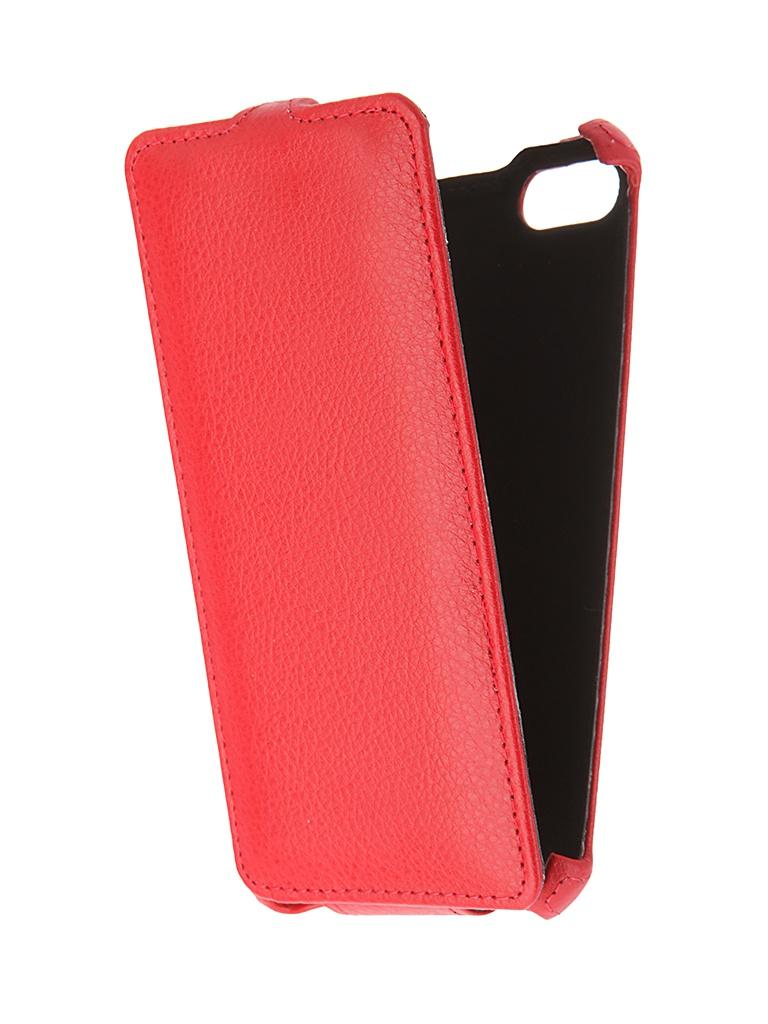 Аксессуар Чехол Gecko для BQ BQS-5020 Red GG-F-BQ5020-RED bq bqs 5070 magic pink