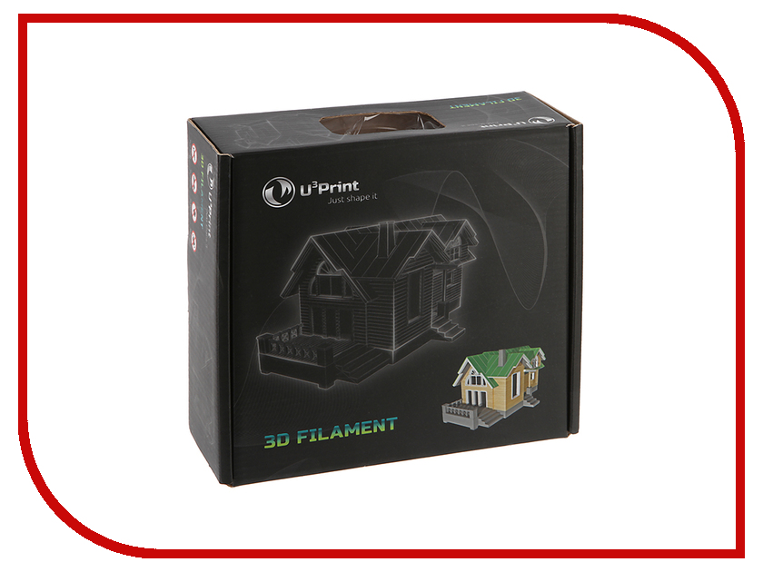 Аксессуар U3print Geek Fil/lament PETg 1.75mm Natural petg u3print