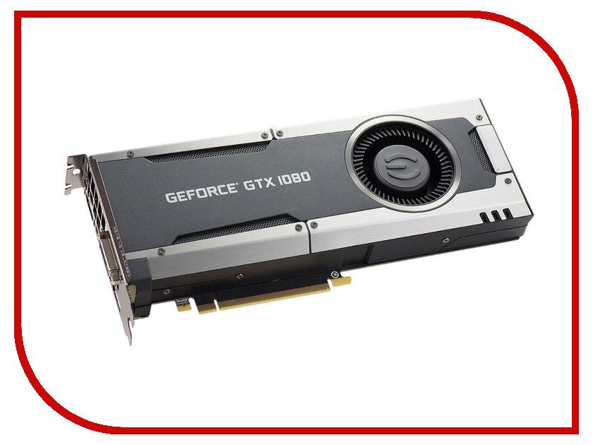 Видеокарта EVGA GeForce GTX 1080 1607Mhz PCI-E 3.0 8192Mb 10000Mhz 256 bit DVI HDMI 08G-P4-5180-KR