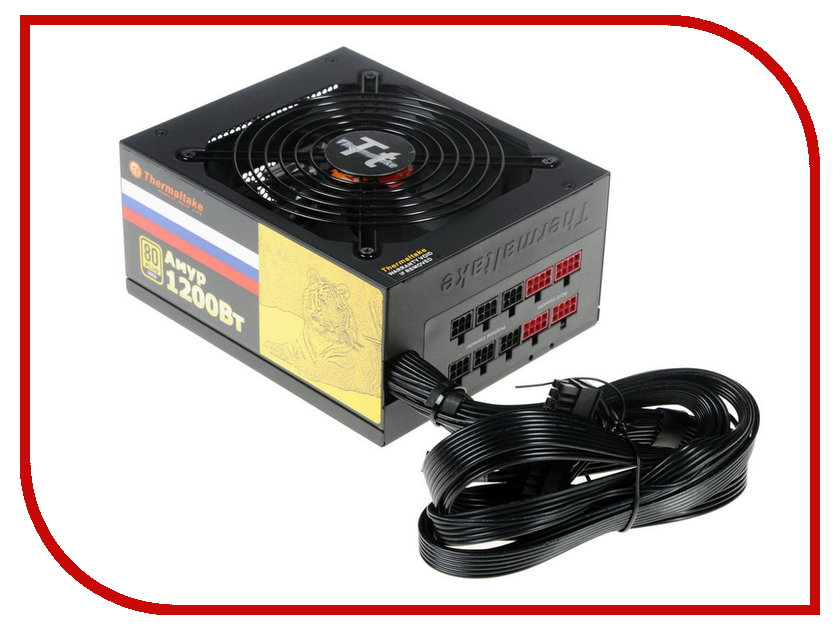 Блок питания Thermaltake Amur 1200W APFC CM 80+ Gold W0430RE