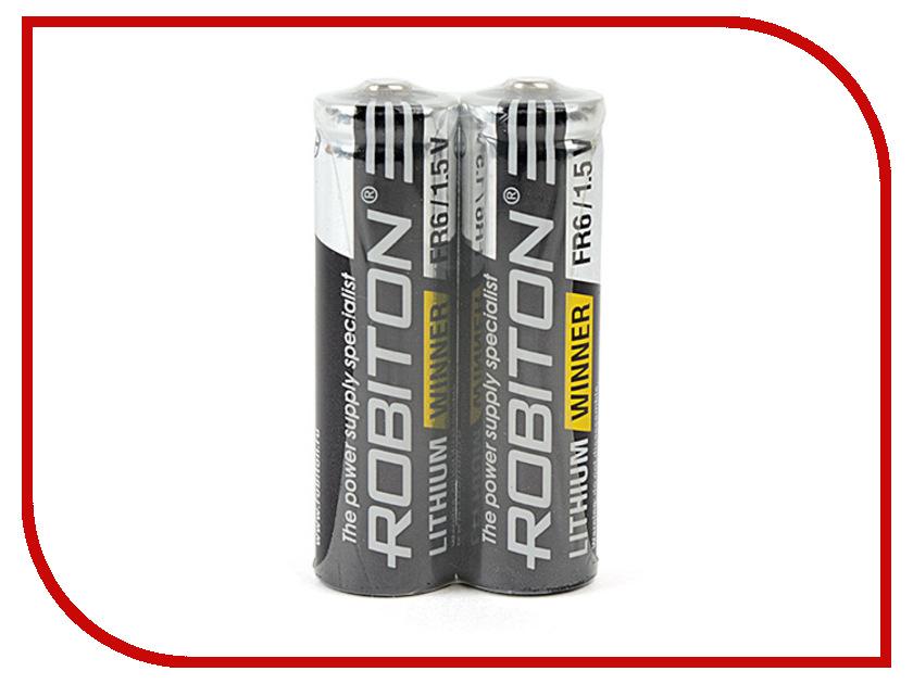 Батарейка AA-Robiton Winner R-FR6-SR2 FR6 (2 штуки) 13689<br>