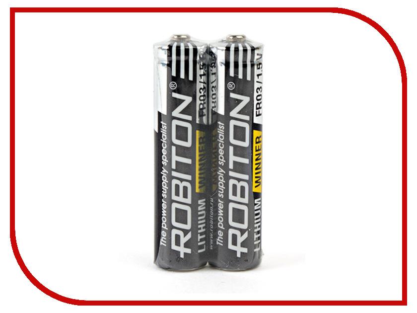 Батарейка AAA-Robiton Winner R-FR03-SR2 FR03 (2 штуки) 13687<br>