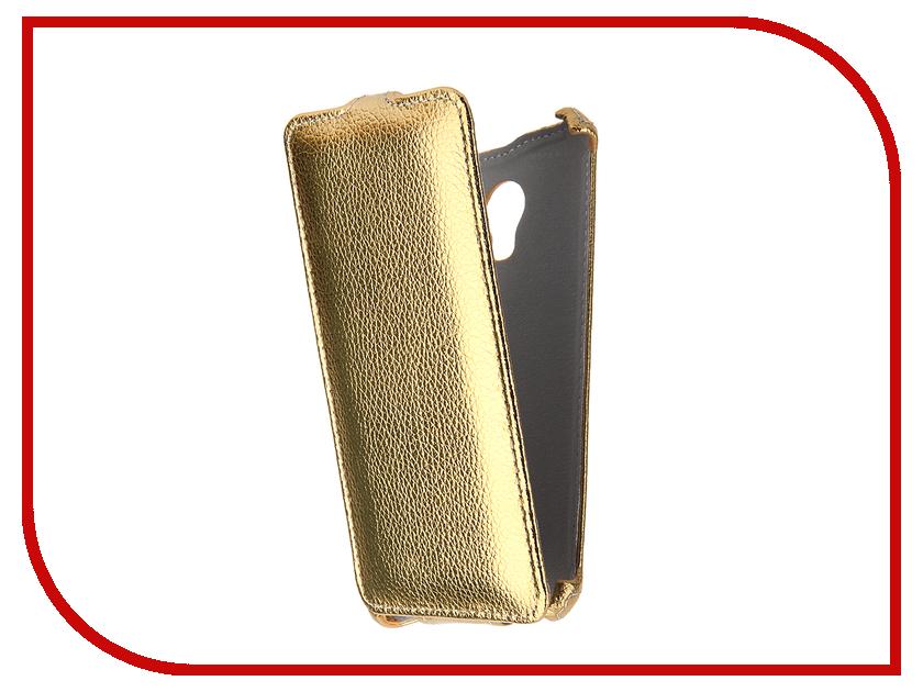 Аксессуар Чехол Meizu M3s Mini Zibelino Classico Gold ZCL-MZ-M3s-Mini-GLD<br>