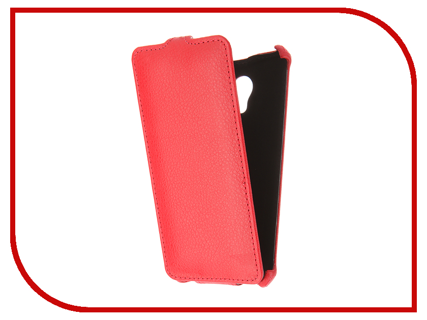 Аксессуар Чехол Meizu M3s Mini Zibelino Classico Red ZCL-MZ-M3s-Mini-RED<br>