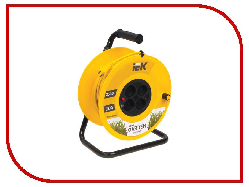 Удлинитель IEK УК20 20m 4 Socket WKP23-06-04-20 лампа светодиодная iek 422017