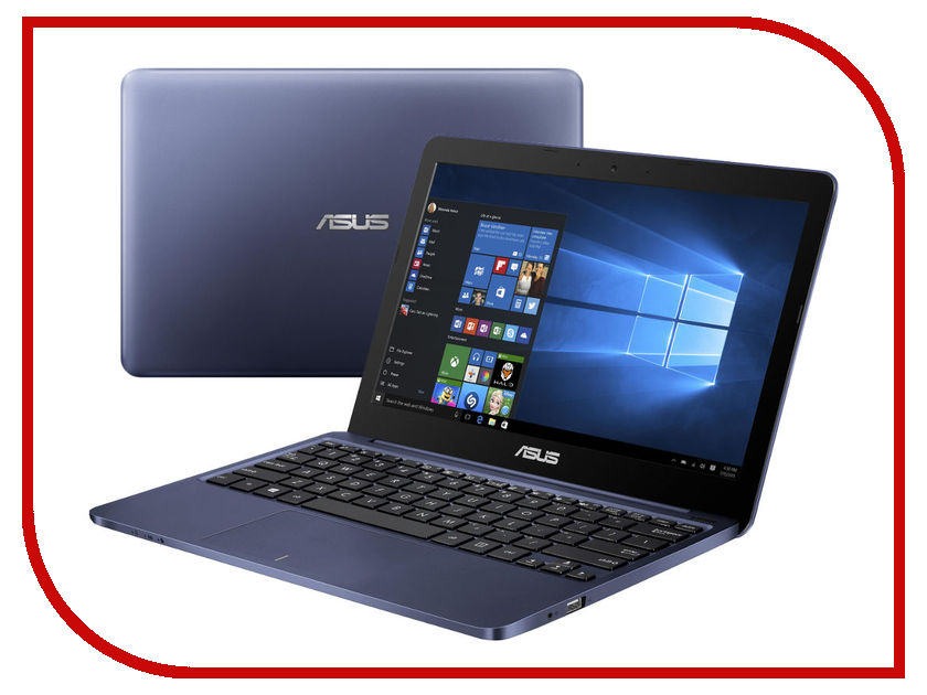 Ноутбук ASUS R209HA-FD0047TS Blue 90NL0072-M03310 (Intel Atom Z8350 1.44 GHz/2048Mb/32Gb SSD/No ODD/Intel HD Graphics/Wi-Fi/Cam/11.6/1366x768/Windows 10)<br>