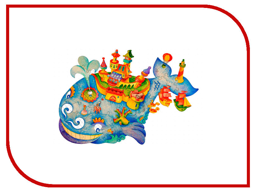 Набор Woody Чудо-Юдо Рыба-Кит<br>