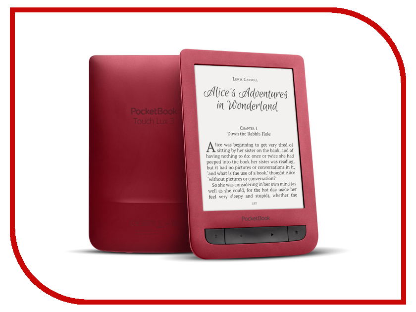 Zakazat.ru: Электронная книга PocketBook 626 Plus Ruby Red