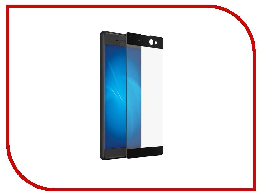 Аксессуар Закаленное стекло Sony Xperia XA Ultra DF xColor-03 Black