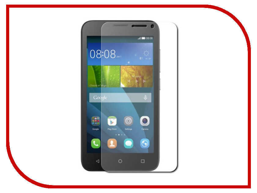 Аксессуар Закаленное стекло для Huawei Y5C DF hwSteel-23