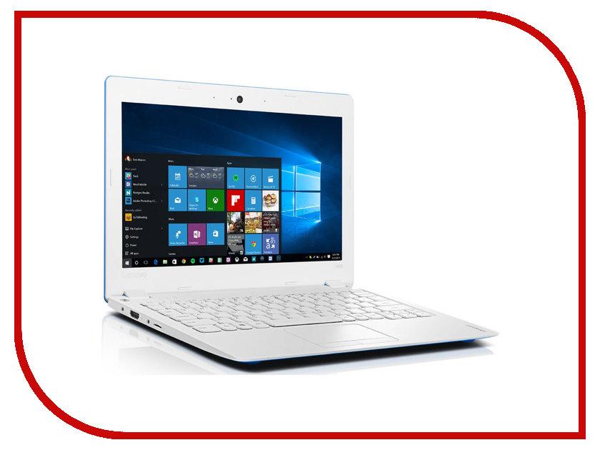 Ноутбук Lenovo IdeaPad 100S-11IBY 80R2003LRK (Intel Atom Z3735F 1.3 GHz/2048Mb/32Gb EMMC/No ODD/Intel HD Graphics/Wi-Fi/Bluetooth/Cam/11.6/1366x768/Windows 10)<br>
