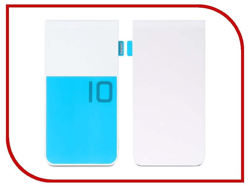 Аккумулятор Remax Colorful 10000 mAh Blue 48362<br>