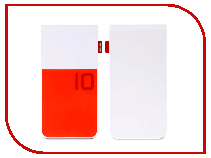 Аккумулятор Remax Colorful 10000 mAh Red 48363<br>