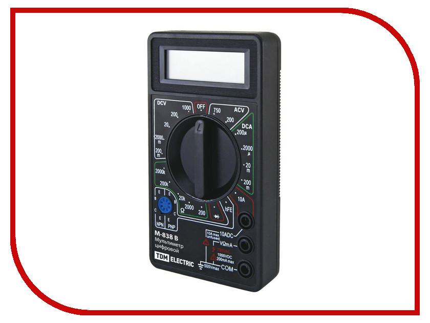 Мультиметр TDM-Electric МастерЭлектрик М-838 SQ1005-0003<br>