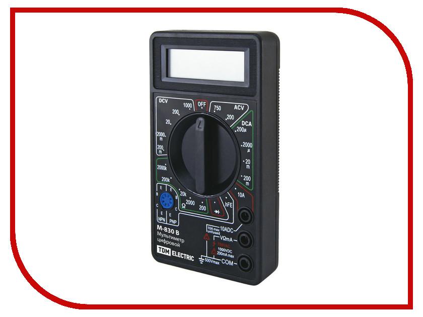 Мультиметр TDM-Electric МастерЭлектрик М-830В SQ1005-0001