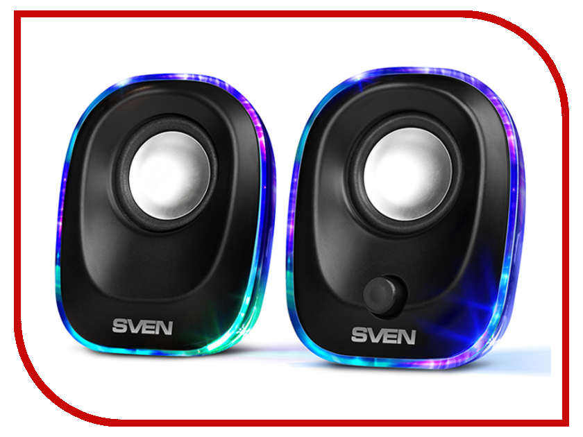 Колонка Sven 330 Black SV-014001 колонка sven sps 604 black sv 0120604bk
