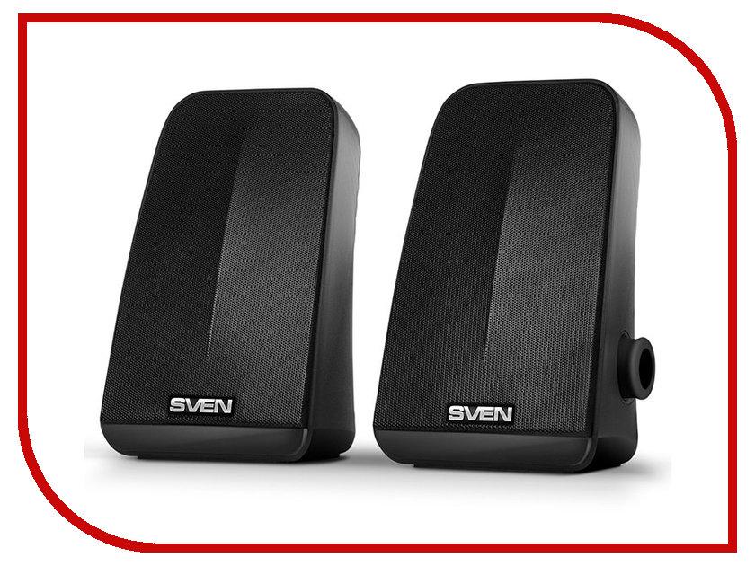 Колонка Sven 380 Black SV-014216 колонка sven sps 604 black sv 0120604bk