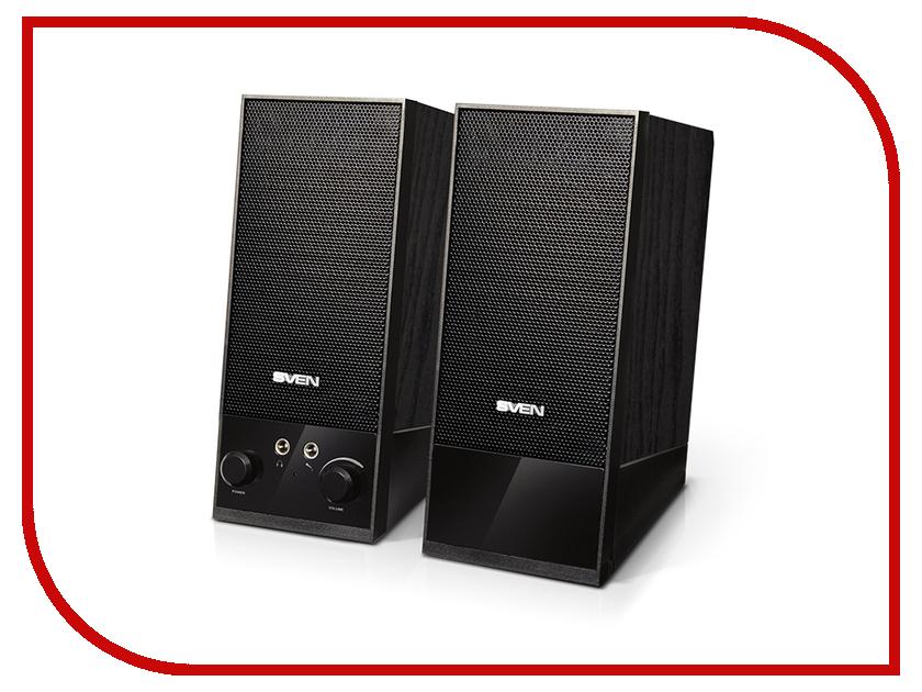 колонки и акустические системы SPS-604  Колонка Sven SPS-604 Black SV-0120604BK
