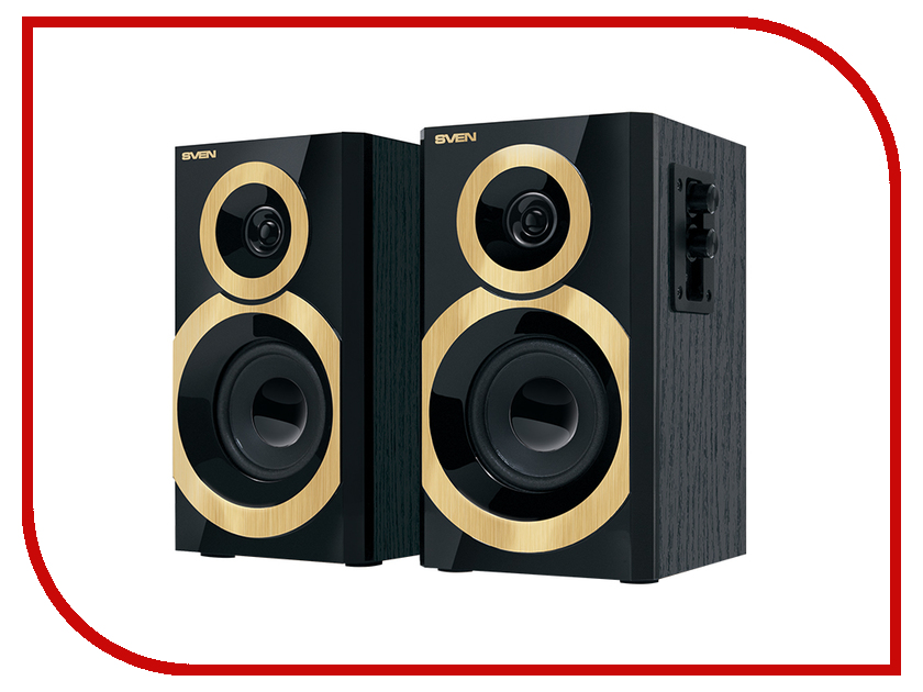 Колонка Sven SPS-619 Black Gold SV-0120619GD колонка sven sps 609 black sv 0120609bk