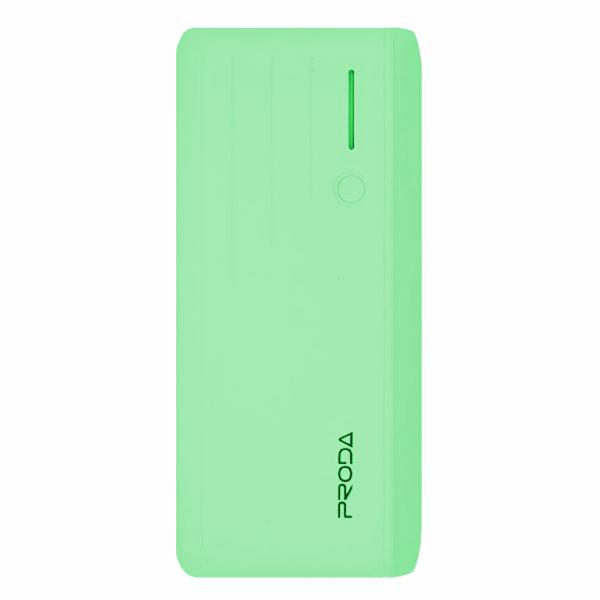 Внешний аккумулятор Remax Proda Time PPL-19 12000mAh Green 48412 цена