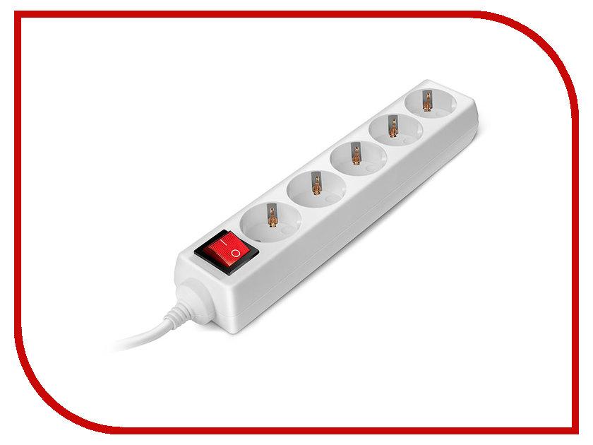 Сетевой фильтр Sven Standard Pro 3G-5 1.5m 5 Sockets White SV-013912