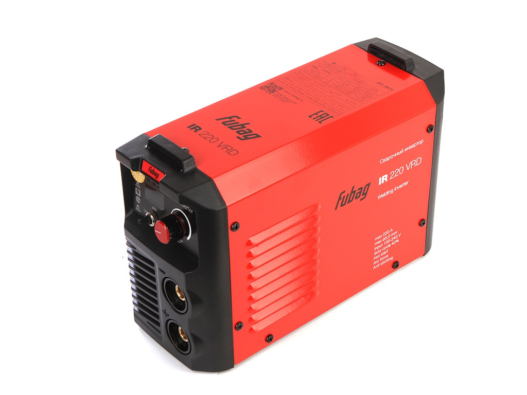 Сварочный аппарат Fubag IR 220 VRD сварочный аппарат fubag ir 220 31404 mma