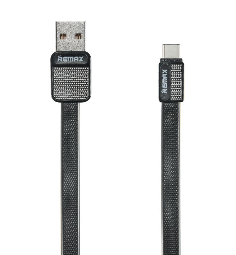 Аксессуар Remax USB Type-C Platinum RC-044a 1m Black 14534
