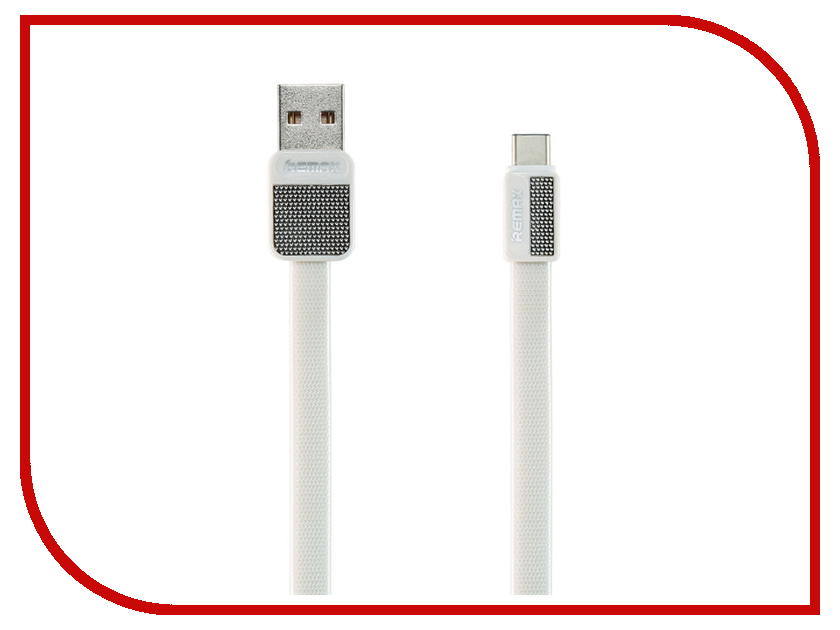 Аксессуар Remax USB Type-C Platinum RC-044a 1m White 14535 аксессуар baseus tough series usb usb type c 1m white 906026