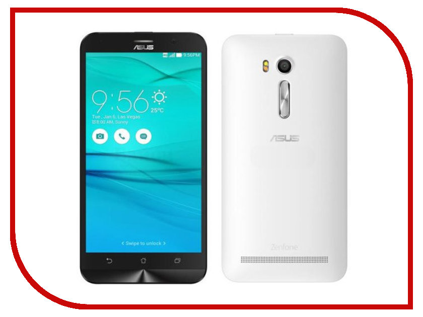 Сотовый телефон ASUS ZenFone Go TV G550KL 16Gb White<br>