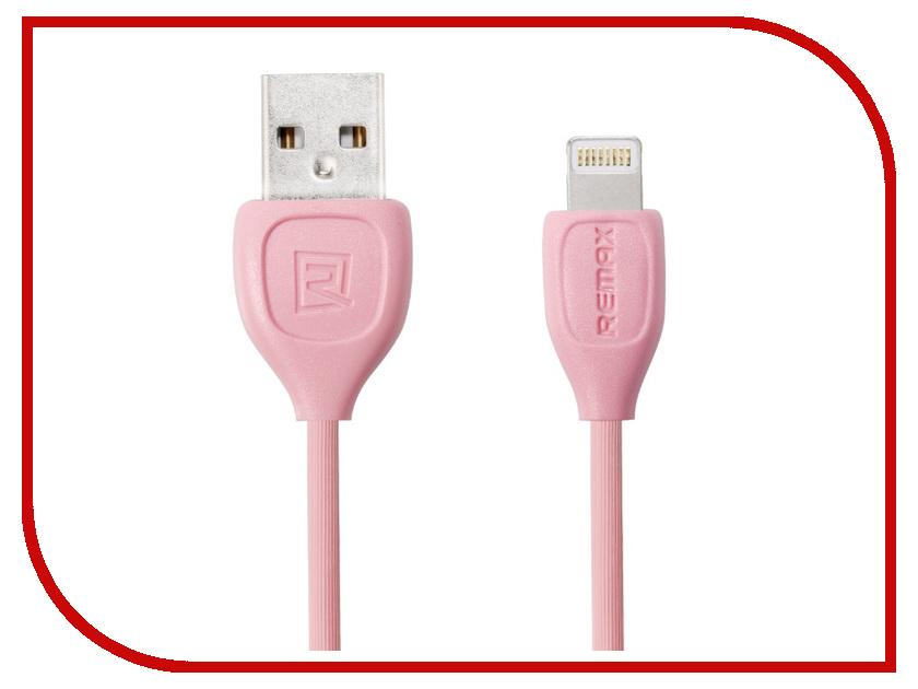 Аксессуар Remax USB Lesu RC-050i для iPhone 6/6 Plus 1m Pink 14533<br>