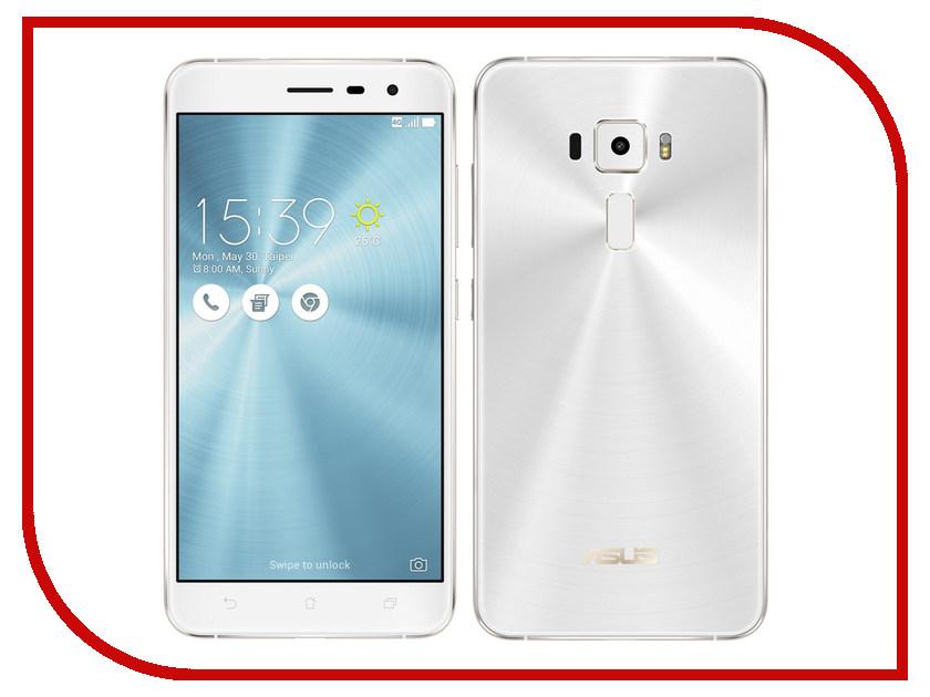 Сотовый телефон ASUS ZenFone 3 ZE552KL 64Gb White asus zenfone 3 zoom 64gb