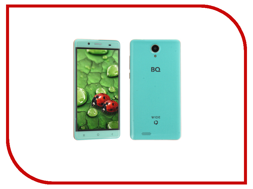 Сотовый телефон BQ BQS-5515 Wide Tiffany Blue bq mobile bq bqs 5050 strike selfie розовый