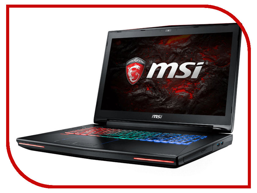 Ноутбук MSI GT72VR 6RE-088RU 9S7-178511-088 (Intel Core i7-6700HQ 2.6 GHz/16384Mb/1000Gb + 256Gb SSD/BD-R/nVidia GeForce GTX 1070 8192Mb/Wi-Fi/Cam/17.3/1920x1080/Windows 10 64-bit)<br>
