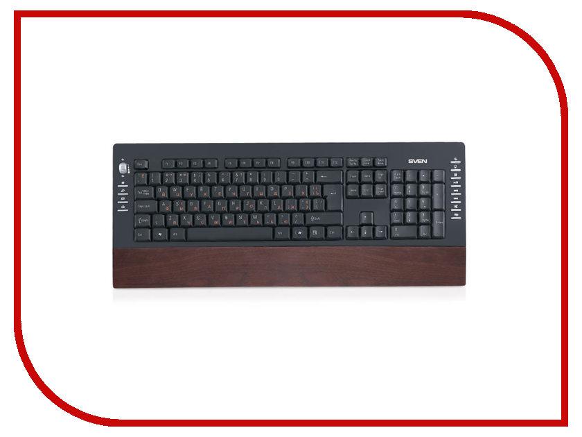 Клавиатура Sven Comfort 4200 Wooden SV-03104200UW