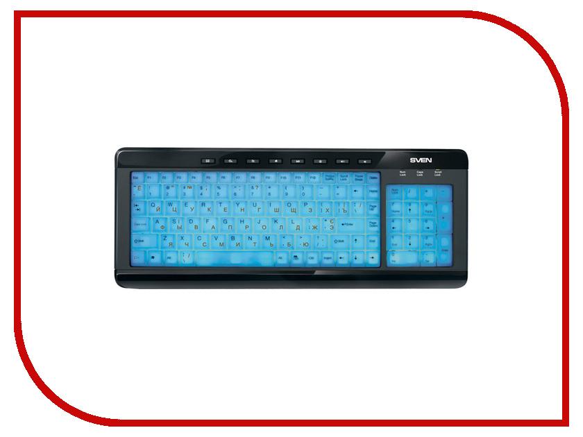 Клавиатура Sven Comfort 7200 EL SV-03107200UBE