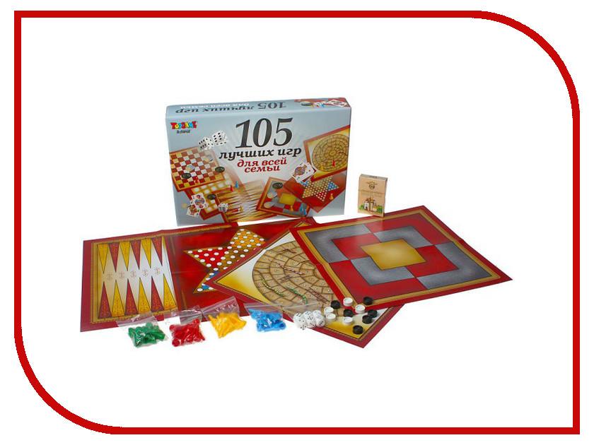 Настольная игра TOPGAME 105 игр для всей семьи 01009<br>