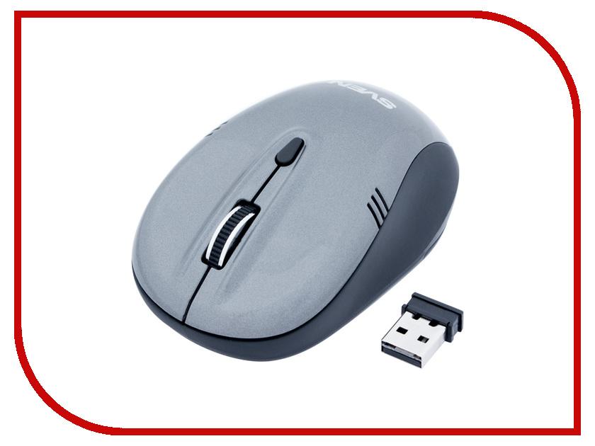 Мышь беспроводная Sven RX-330 Wireless Grey USB SV-03200330W<br>