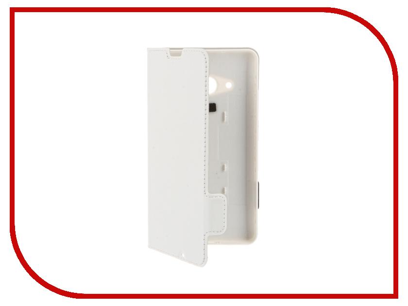 Аксессуар Чехол Microsoft Lumia 550 WCL5502 White