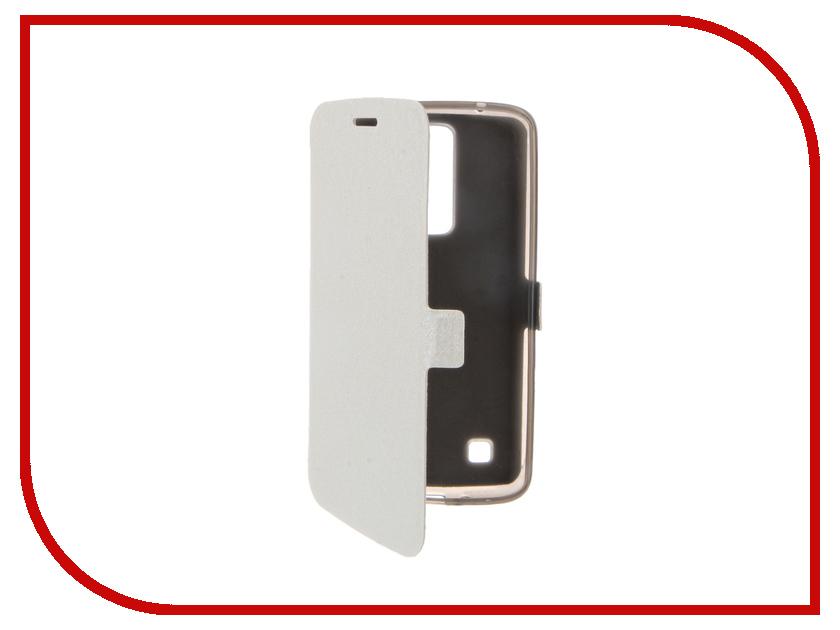 Аксессуар Чехол LG K7 Prime Book White T-P-LK7-05<br>
