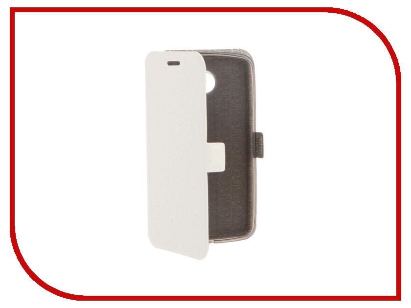 Аксессуар Чехол LG K5 Prime Book White T-P-LK5-05<br>