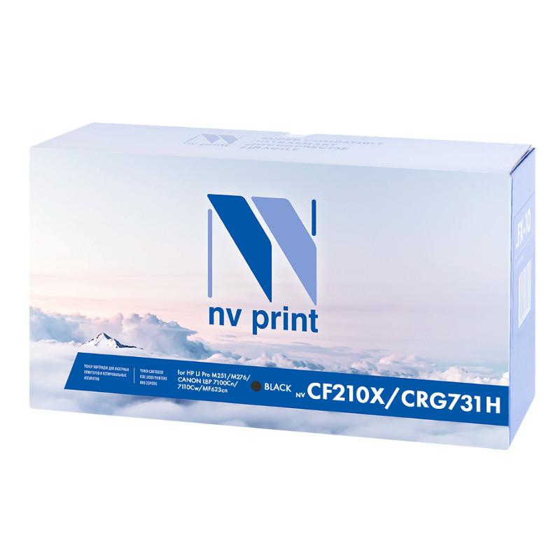 Картридж NV Print HP CF210X/731H Black для LJ Pro M251/M276 /LBP 7100Cn/7110Cw/MF623cn костюм спортивный мужской puma ftbltrg poly tracksuit цвет красный черный 655202 14 размер m 46 48