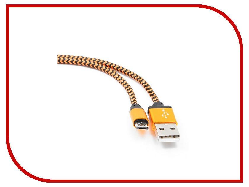 Аксессуар Gembird Cablexpert USB AM/microBM 5P 1m Orange CC-mUSB2oe1m<br>