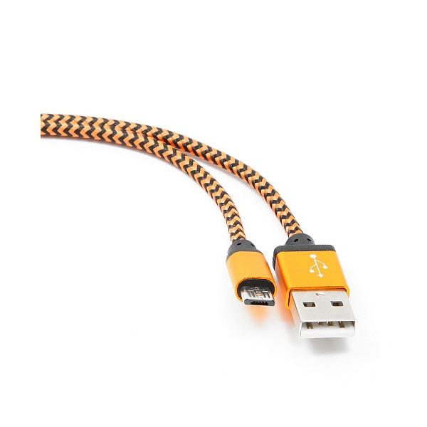 Фото - Аксессуар Gembird Cablexpert USB AM/microBM 5P 1m Orange CC-mUSB2oe1m аксессуар gembird cablexpert usb am microbm 5p to iphone lightning 1m blue cc mapusb2bl1m