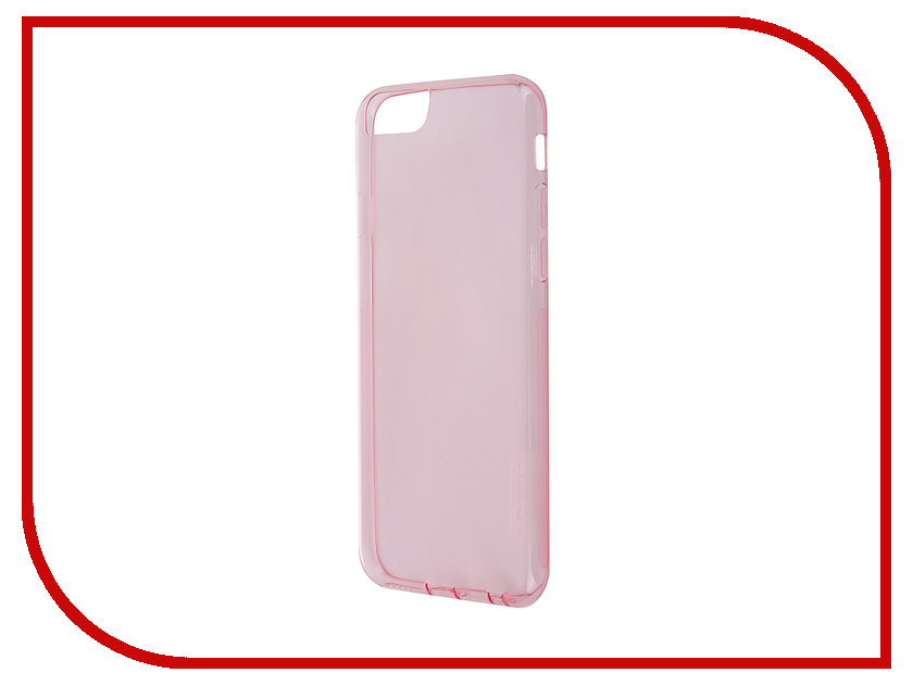 Аксессуар Чехол-накладка Nillkin Nature TPU Case для iPhone 6/6S Transparent Pink<br>