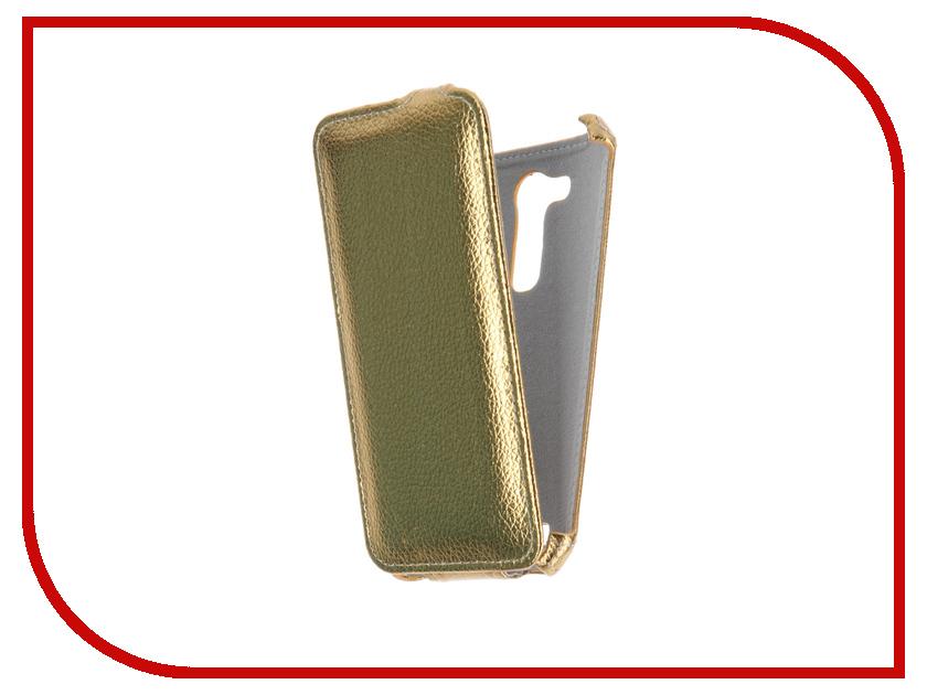 Аксессуар Чехол ASUS ZenFone Go ZB452KG Gecko Gold GG-F-ASZB452KG-GOLD
