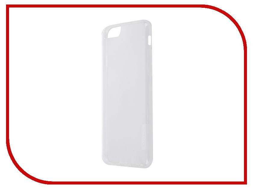 Аксессуар Чехол-накладка Nillkin Nature TPU Case для iPhone 6/6S Transparent White<br>
