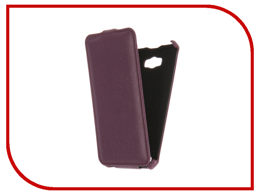 Аксессуар Чехол ASUS ZenFone Max ZC550KL Gecko Violet GG-F-ASZC550KL-VIO<br>