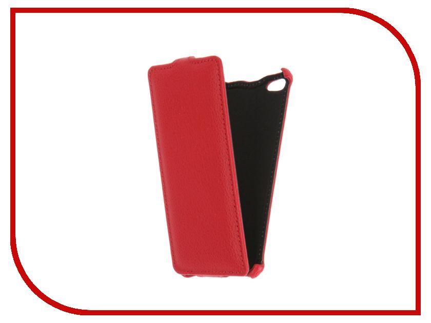 Аксессуар Чехол BQ BQS-4800 Blade Gecko Red GG-F-BQ4800-RED<br>