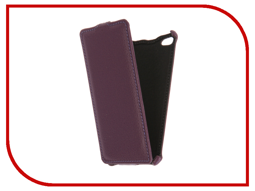 Аксессуар Чехол BQ BQS-4800 Blade Gecko Violet GG-F-BQ4800-VIO<br>