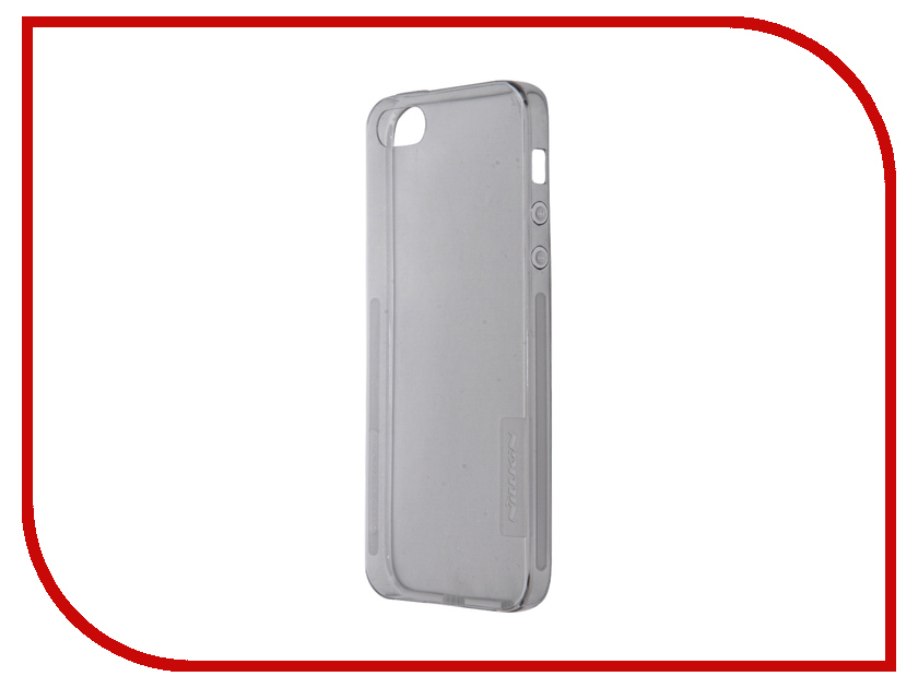 Аксессуар Чехол-накладка Nillkin Nature TPU Case для iPhone 5S/SE Transparent Black